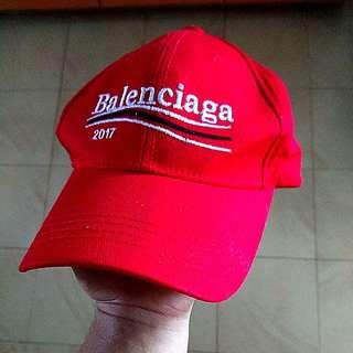 (INSTOCK) Balenciaga Baseball Cap (Red)