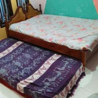 Kasur dan tempat tidur