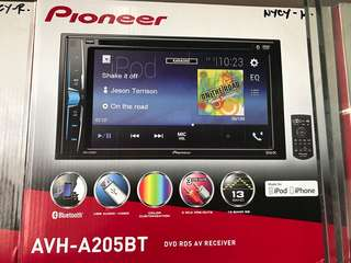 Pioneer A205BT