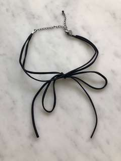 CHOKER NECKLACE RIBBON