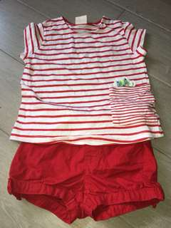 Zara & Gymboree 2 Piece Set 18-36m