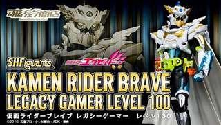 SHF Kamen rider Ex-aid Brave Lv100 Legacy Gamer