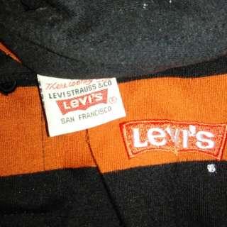 Vintage 90s levis stripe colar shirt