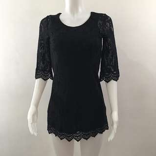 Black Lace Dress (Bought from gobuy.com)