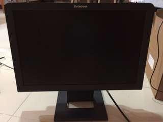 "Lenovo 19"" Think Vision L192 Wide TFT monitor"