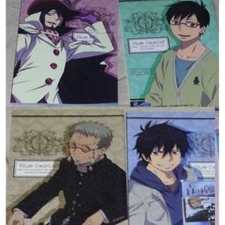 [Notebook]Ao no Exorcist [Blue Exorcist]  Notebooks (x2) (back and front)