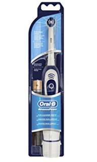 Oral B battery powered toothbrush