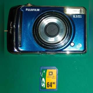 Fujifilm Finepix A805 Digital Camera (Blue)