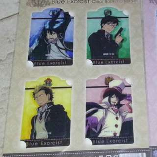 [BookMark Set]Ao no Exorcist [Blue Exorcist] Card Set A + Card Set B