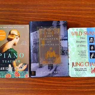 3 for $12: Wild Swans; The Lost Daughter of Happiness; The Piano Teacher