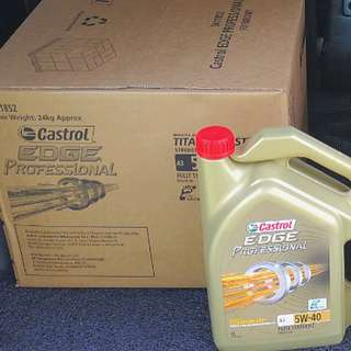Castrol Edge PROFESSIONAL A3 5W40 Fully Synthetic Titanium FST, 👍BEST engine oil under CASTROL for Maximum Performance! (Convenient locations to collect, see full listings below)