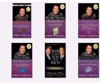 Ebooks by Robert Kiyosaki (Rich Dad, Poor Dad)