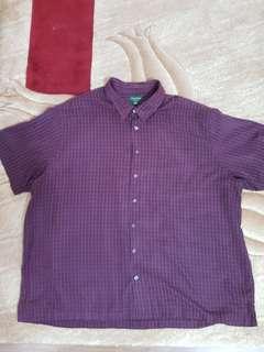 4XL Men Short sleeve shirt