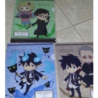 [A5 File] Ao no Exorcist [Blue Exorcist] x3