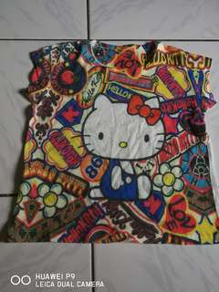 Hello kitty top for 2-4y.o.