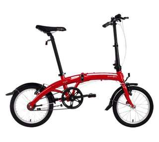 Dahon D3 Curve folding bicycle