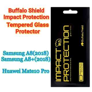 Buffalo Shield Impact Protection Tempered Glass Protector
