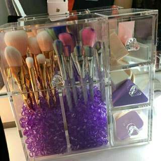 Make up Brush Acrylic Organizer
