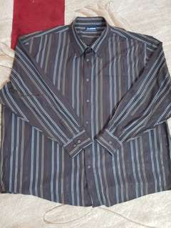 5XL Men Long Sleeve Shirt