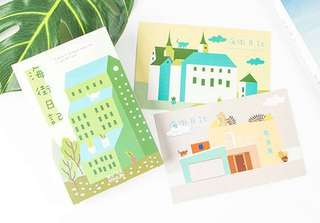 (Instock) Pastel World Postcards/ Post Cards