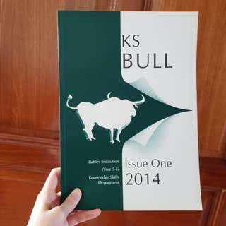 General Paper - KS BULL Issue One 2014