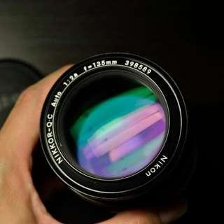 Nikon 135 2.8 Auto Q.C