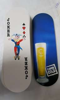 Rare Design Tiger Beer Play Cards
