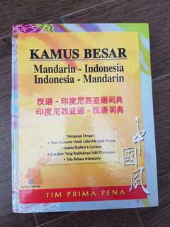 Chinese Indonesian dictionary
