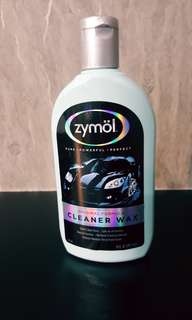 Zymol cleaner wax