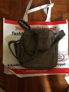 Pacsafe anti-theft shoulder bag metrosafe 200 GII防盜袋