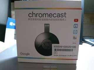 🚚 Google chrome cast V3