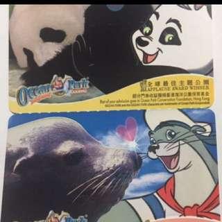 香港海洋公園入場門票 $359