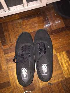 VANS AUTHENTIC WOMEN BLACK