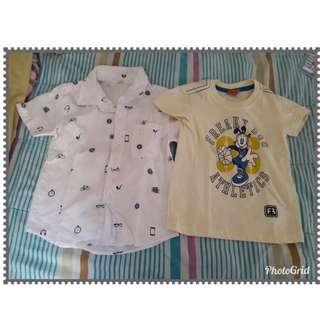 Branded Set Polo and Shirt