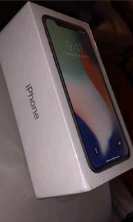 Brand new sealed iPhone X 64Gb silver imter