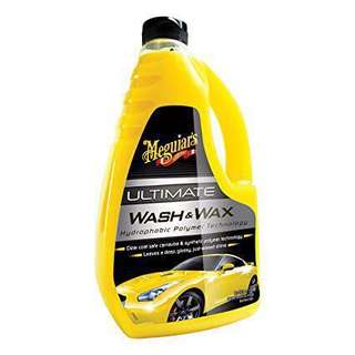 Meguiars Wash and Wax car soap
