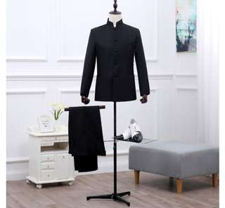 Men suit jacket +pants business /wedding
