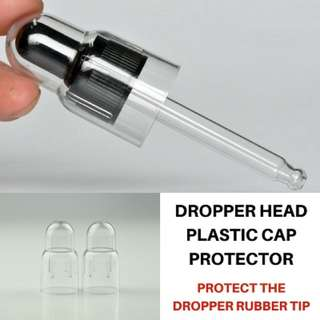 Dropper Head Plastic Protector | Dropper Bottle Head | Dropper Head Bottle | Dropper Tip Protector | Dropper Cap
