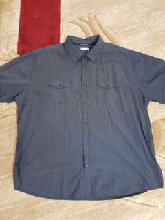 7XL (5XL)Mens Short Sleeve Shirt
