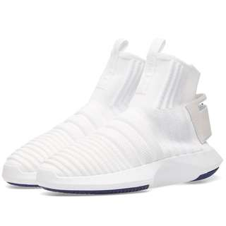 Adidas Crazy 1 ADV Sock PK White/Purple