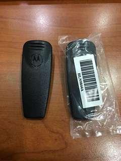 Brand new Motorola walkie talkie clips