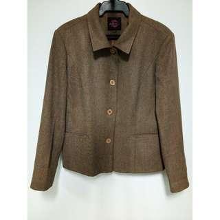 ADENE LIPS- Brown Blazer