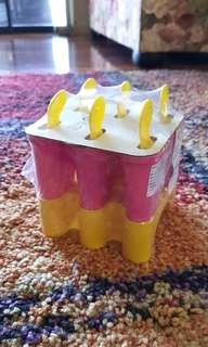 NEW IKEA Set of 6 Ice Lolly Maker (Australia)