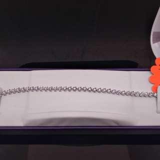 運身1卡半鑽石手鍊已到舖。特價$16800