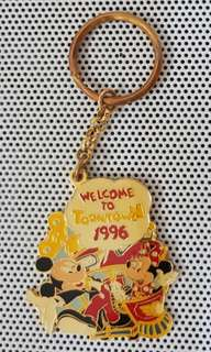 1996 Disney Toontown keychain
