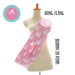 [In-Stock] Bunny in Pink_Ring Sling