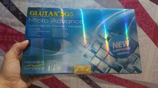 Glutax Micro Advanced 5gs complete set (12vials) free sf