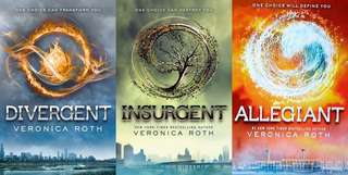 Ebooks by Veronica Roth (Divergent Trilogy)