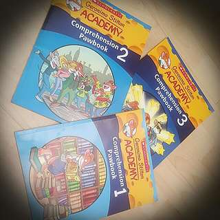 Geronimo Stilton Comprehension Pawbook