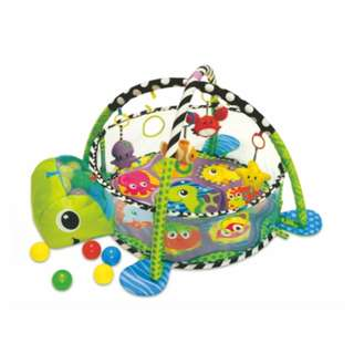 BABY PLAY GYM TURTLE BALL PIT- SHEARS